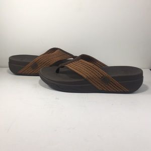 FitFlop Surfa (Chocolate Brown) Sandals